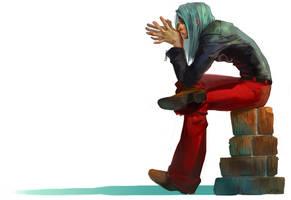 Street Fighter : Remy by JenZee