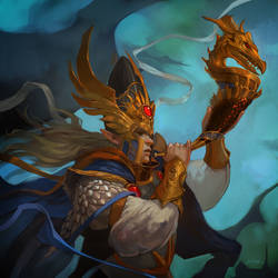 Warhammer - Dragon Caller by JenZee