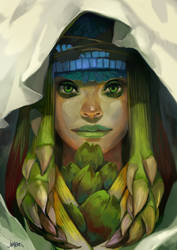 Goddess of Plenty by JenZee