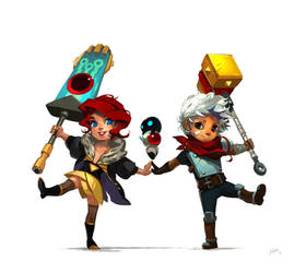 Transistor... Hasshin! by JenZee