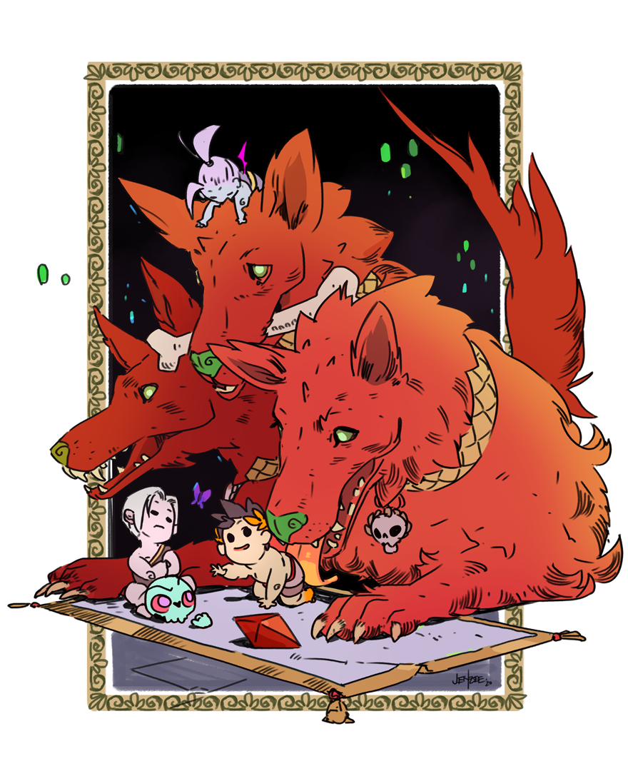 Cerberus and Tots