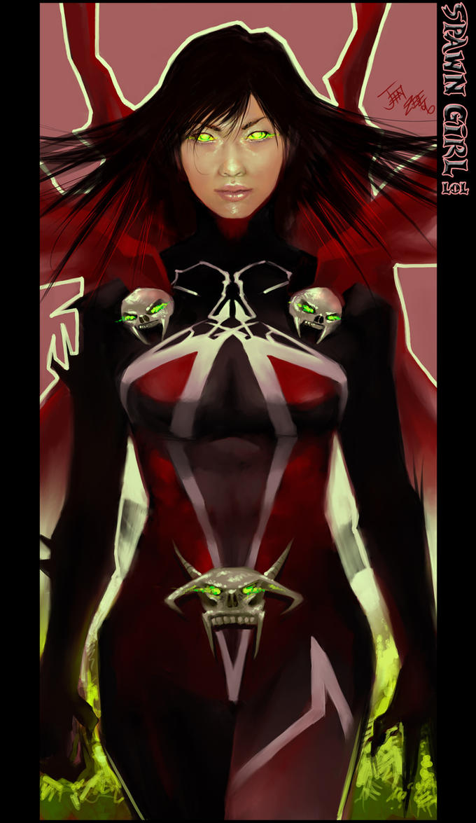 Spawn Girl LOL by JenZee