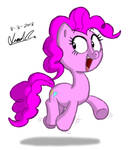 Day 2 - Pinkie on the Move