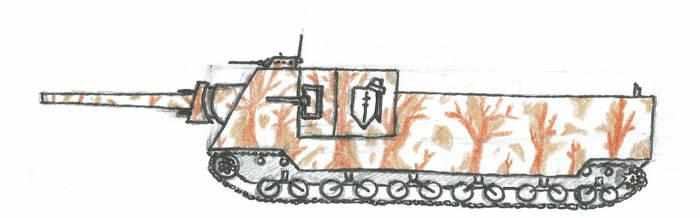 T1A1 Valor Superheavy Tank by NeyoWargear