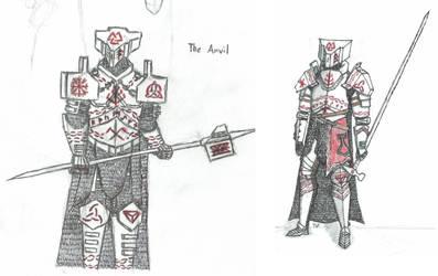 Konrad the Anvil 2016 vs. 2019 by NeyoWargear