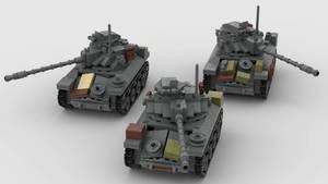 T71 Detroit Arsenal Light Tank Wolfpack Render 4K
