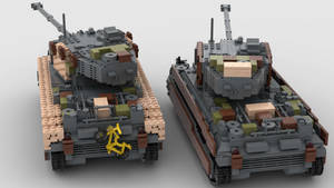 M6A2E1-# Army of Two 4K Render 3