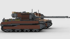 M6A2E1-# Army of Two 4K Render 5