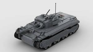 T1 Heavy Tank 4K Render 1