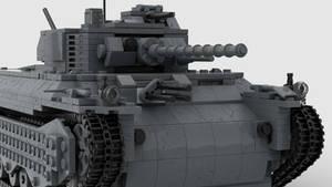 T1 Heavy Tank 4K Render 2