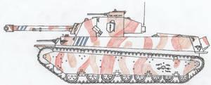 T2A1 Arlington Heavy Tank