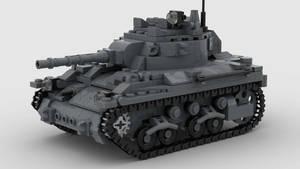 M7 Medium Tank V4 4K Recolor 1