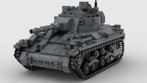M7 Medium Tank V5 Render 4K 1