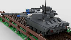 [Alt] M71 Light Tank (AGM-22) Firing 1