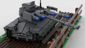 [Alt] M71 Light Tank (AGM-22) Firing 2