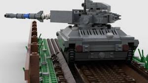 [Alt] M71 Light Tank (AGM-22) Firing 4