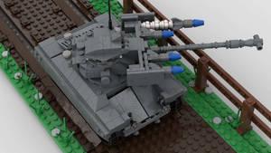 [Alt] M71 Light Tank (AGM-22) Firing 5