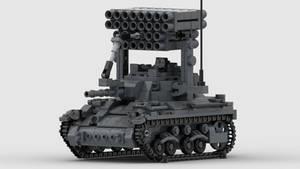 [ALT]M7 Medium Tank T72 MLRS Render 4K 1