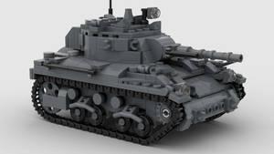 M7 Medium Tank V6 Render 4K 1