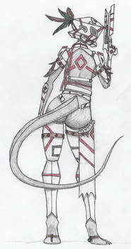 Cuetzpali Soldier II