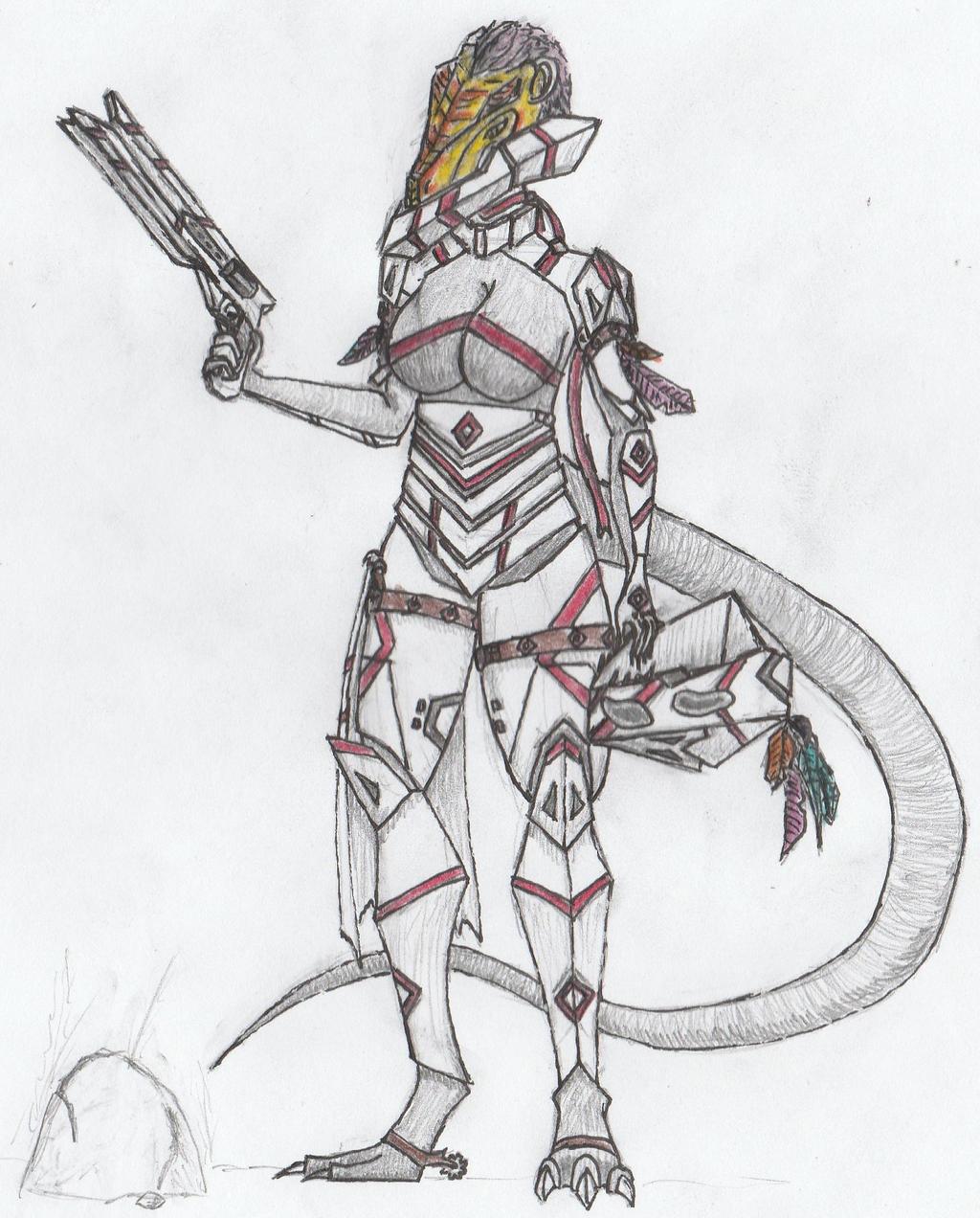 Cuetzpali Soldier III