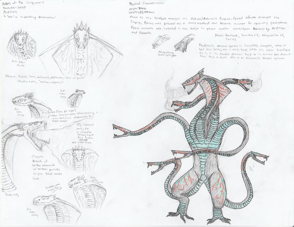 Kaiju Design Page 20 - Perdition
