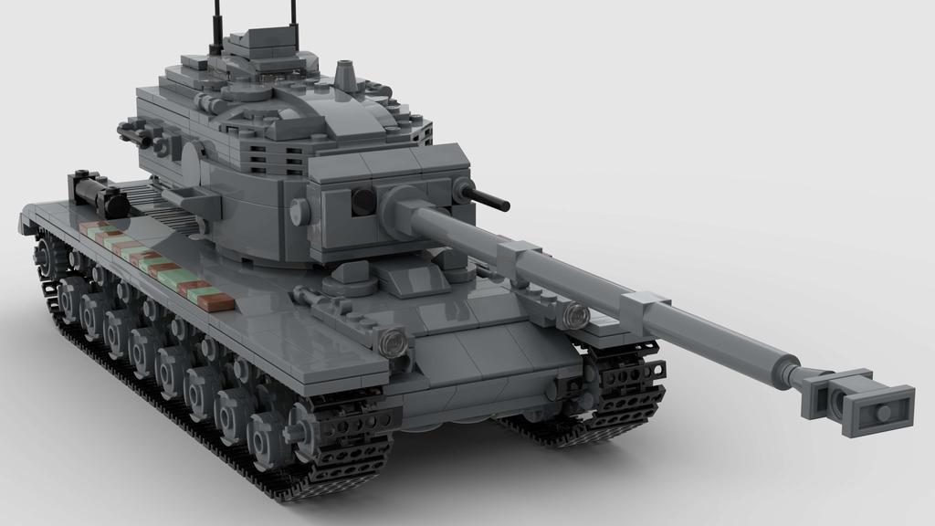 T29 Heavy Tank V1 4K Render 1