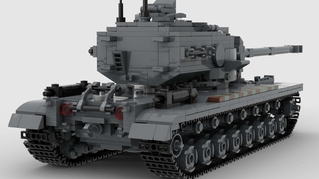 T29 Heavy Tank V1 Actual 4K Render 2