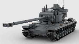 T29E3 Heavy Tank V1 4K Render 1