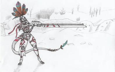 Cuetzpali Soldier VII