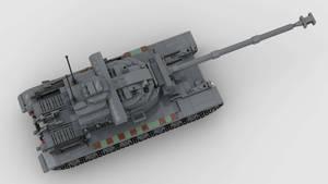 T29E3 Heavy Tank V1 4K Render 3