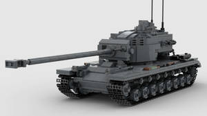 T30 Heavy Tank V1 4K Render 1