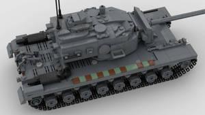 T30 Heavy Tank V1 4K Render 2
