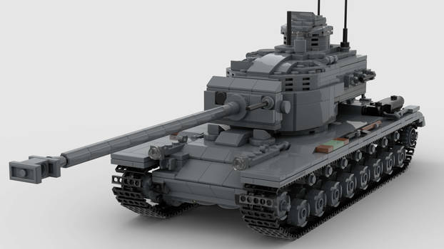 T30E1 Heavy Tank V1 4K Render 1