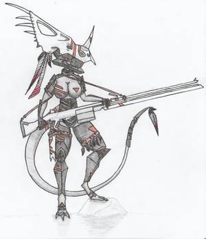 Cuetzpali Soldier IX