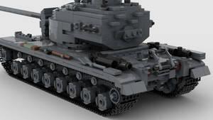 T30E1 Heavy Tank V1 4K Render 2