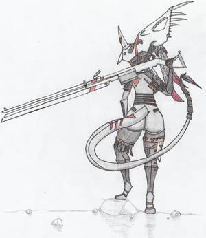 Cuetzpali Soldier X