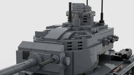 T30E1 Heavy Tank V1 4K Render 3