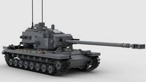 T34 Heavy Tank V1 4K Render 1
