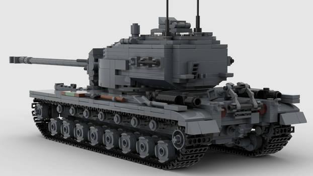 T34 Heavy Tank V1 4K Render 2