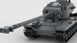T34 Heavy Tank V1 4K Render 3