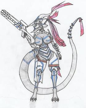 Cuetzpali Soldier XIV