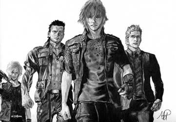 Final Fantasy XV by MetalDBN
