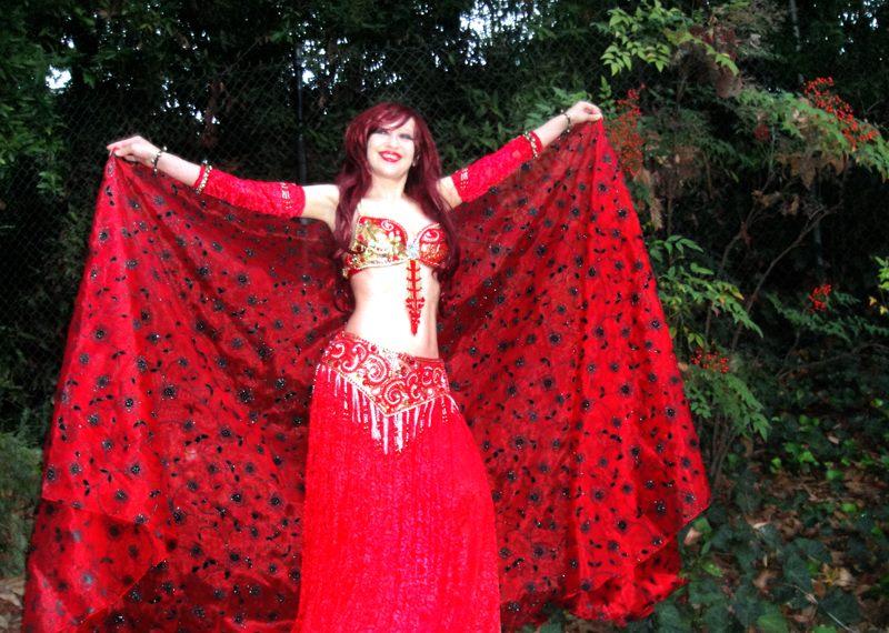 Ameynra bellydance fashion model Sofia Metal Queen by SOFIAMETALQUEEN