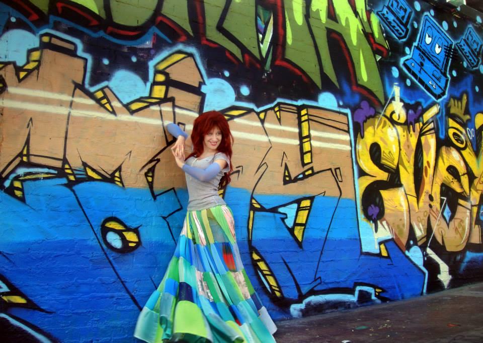 Patchwork fashion Hippie style boho skirt by Sofia by SOFIAMETALQUEEN