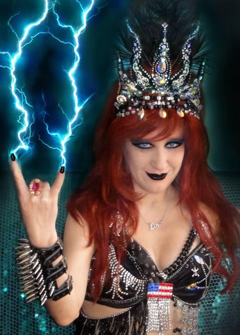 Sofia Metal Queen - portrait by SOFIAMETALQUEEN