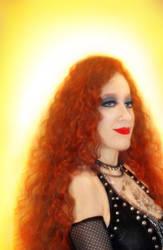 Sofia Metal Queen. Beauty of red hair by SOFIAMETALQUEEN