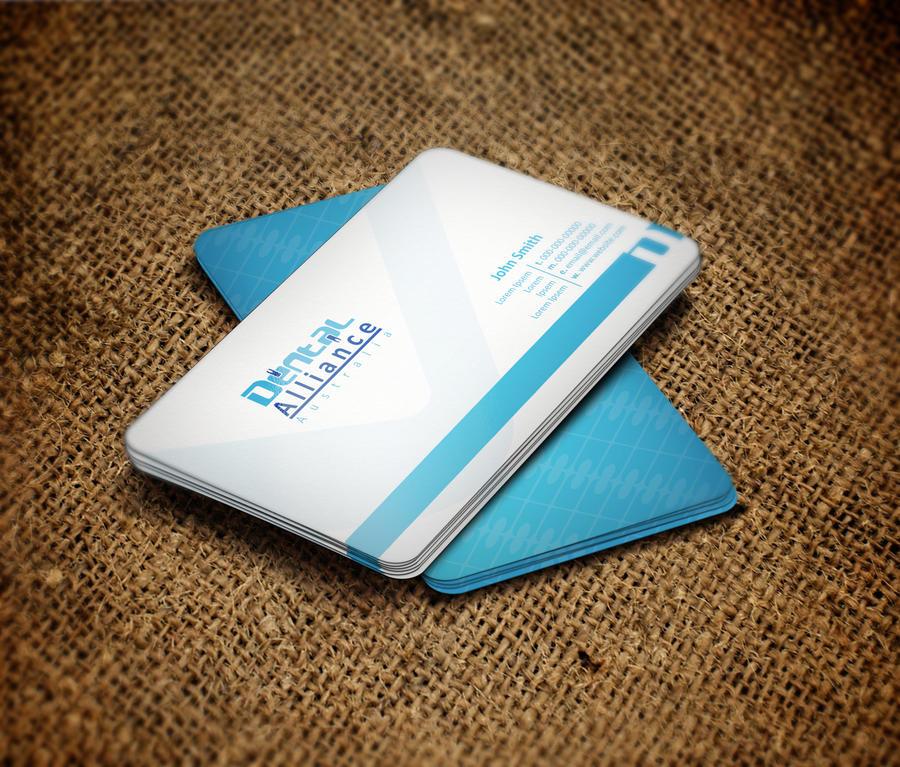 Dental Business card by deskdesign1 on DeviantArt