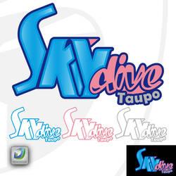 Sky Dive Logo by deskdesign1