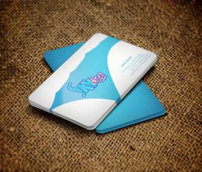 Sky dive Business Card-2 by deskdesign1